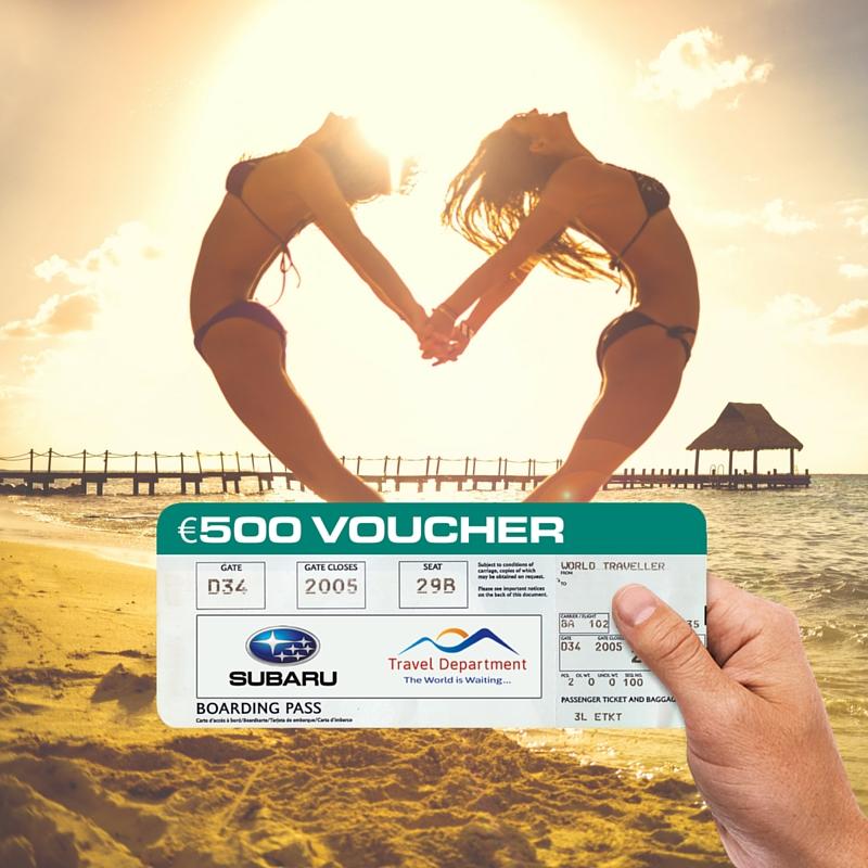 Win a €500 Travel Department voucher!