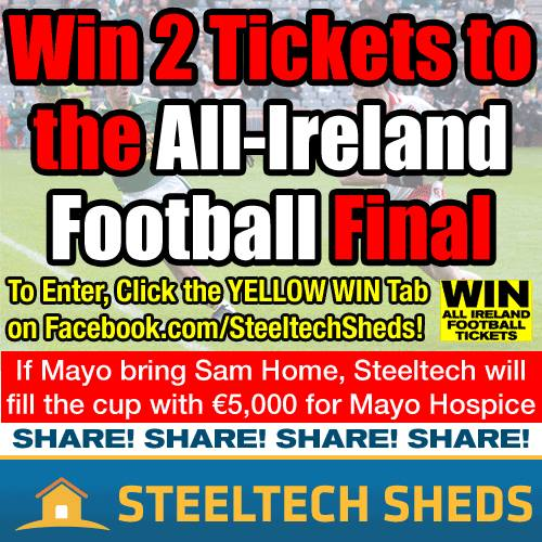 Win 2 tickets to All-Ireland Football Final