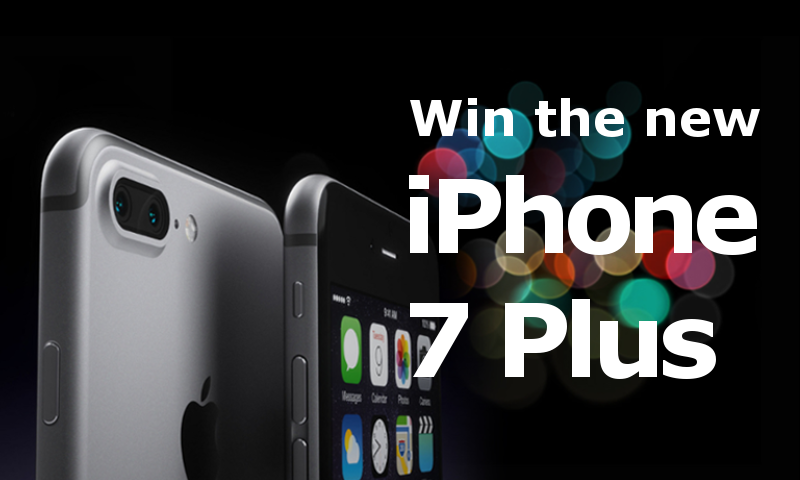 Win an iPhone 7plus