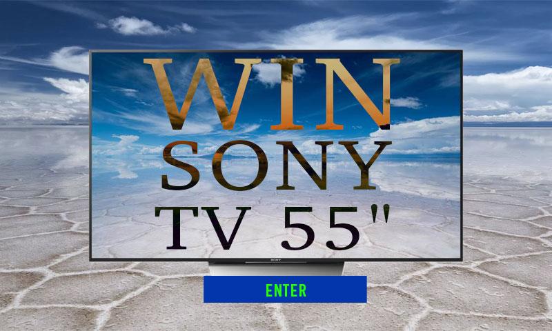 """Win 55"""" 'Sony TV"""