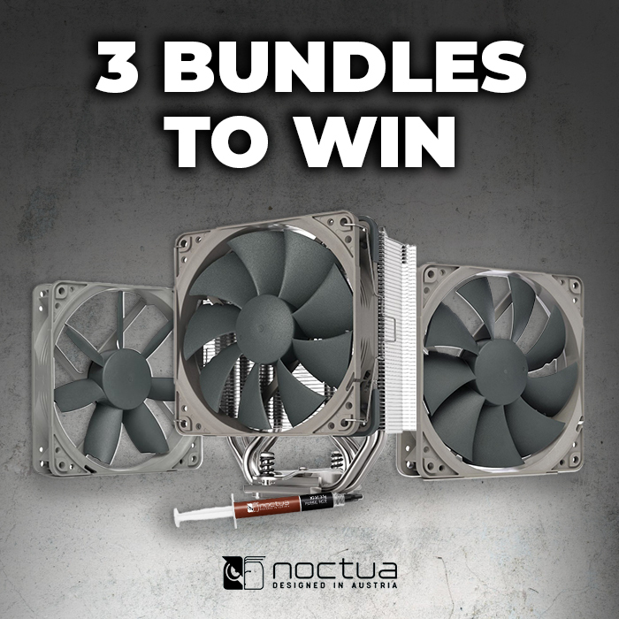 Win 1 of 3 Noctua NH-U12S redux bundles