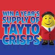 Win a Year's Supply of Tayto Crisps