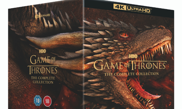 Win a 4K Ultra HD Boxset Of Game of Thrones