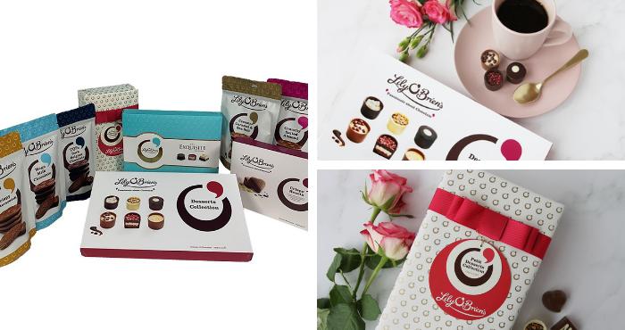 Win a Valentine's day hamper of Lily O'Brien's Chocolates