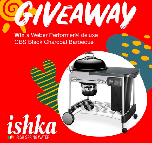 Win a Weber Performer Deluxe Gourmet Charcoal BBQ