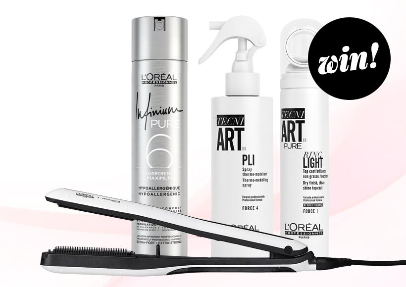 Win L'Oréal Professionnel Steampod 3.0