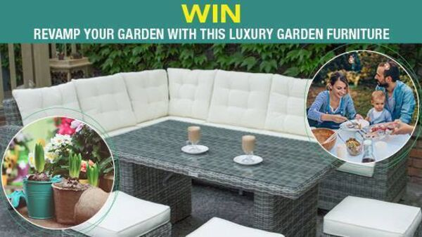 Win a Luxury Garden Furniture