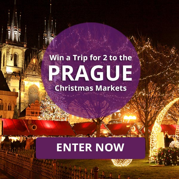 Win a Trip for 2 to the Prague Christmas Markets