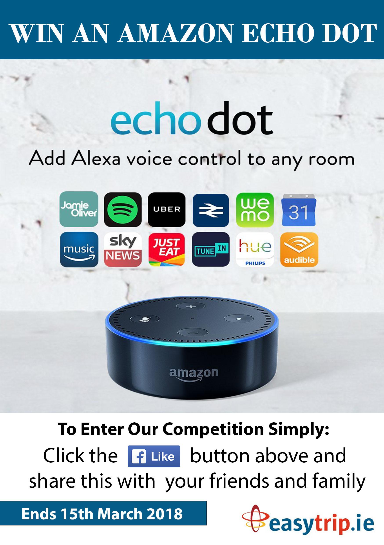 Win an Amazon Echo Dot