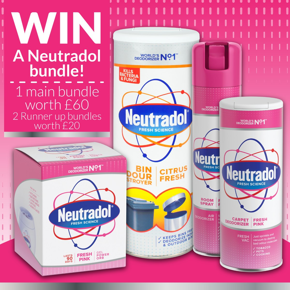 Win Neutradol Pink Cleaning Bundle