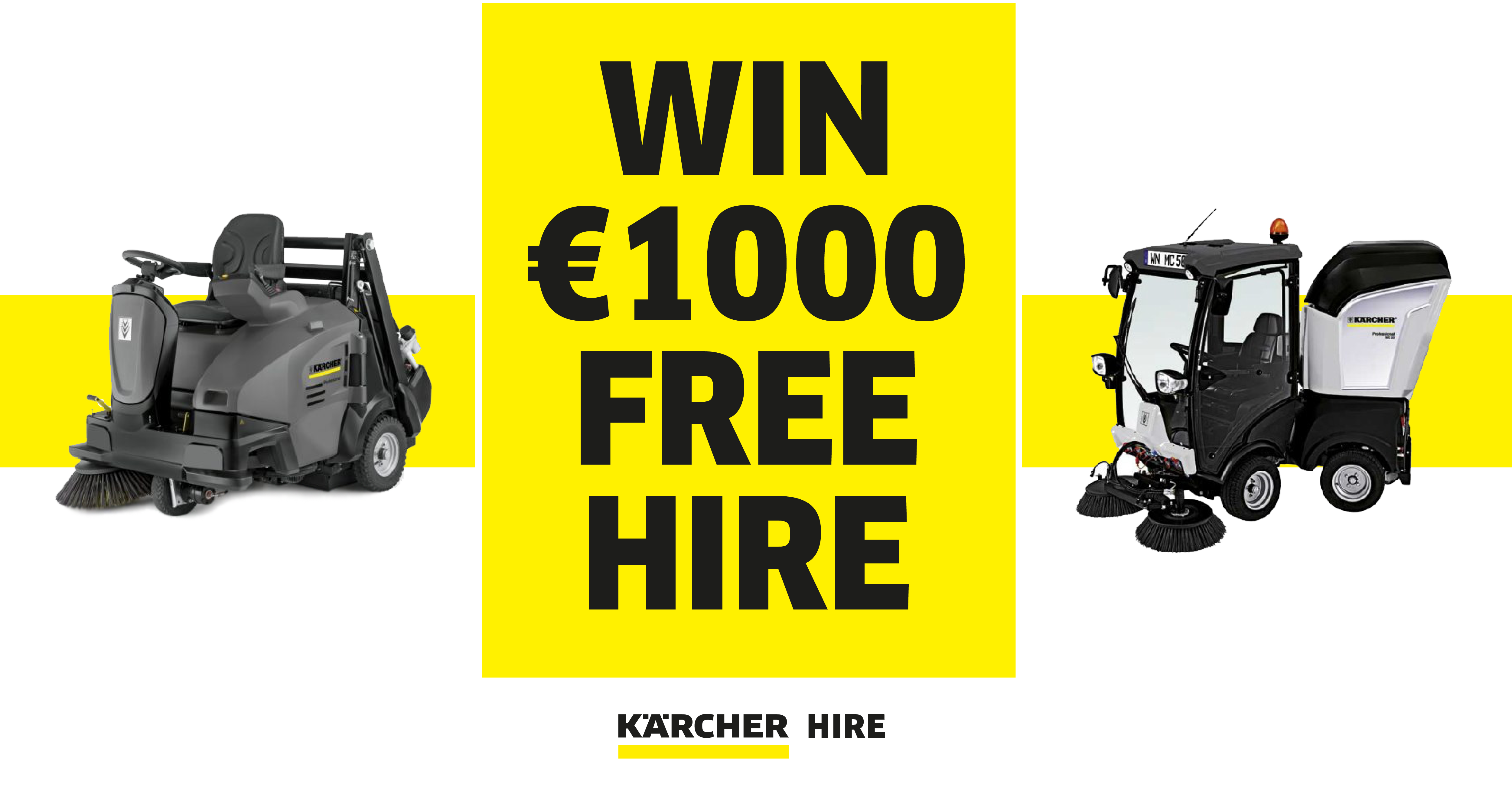 Kärcher Hire Ireland €1000 Free Hire Giveaway