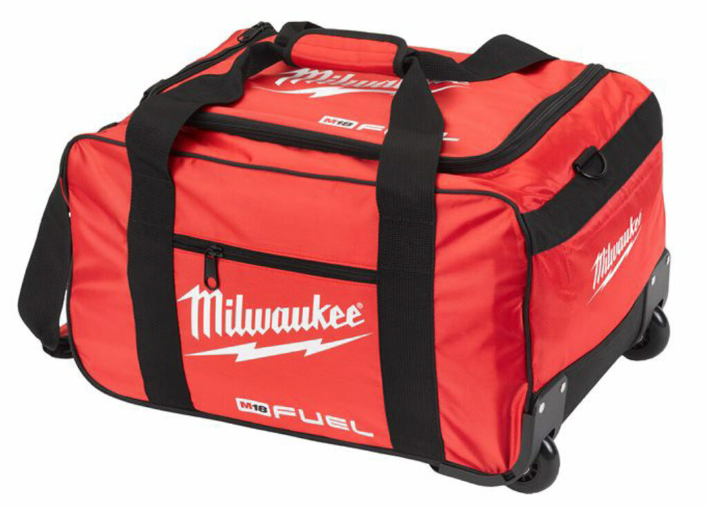 Win a Milwaukee FUEL XL Contractors Wheel Bag