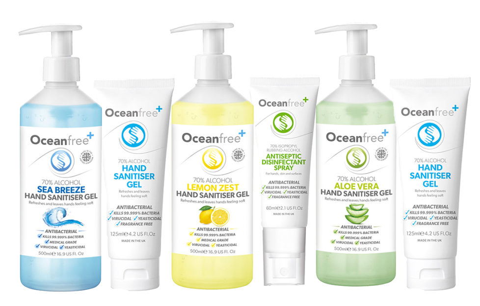Win a bundle of products from Ocean Free