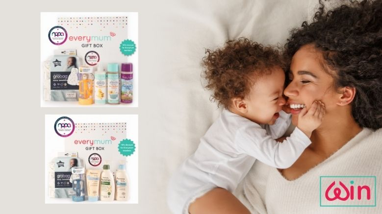 Win 1 of 2 Everymum Baby Gift Boxes