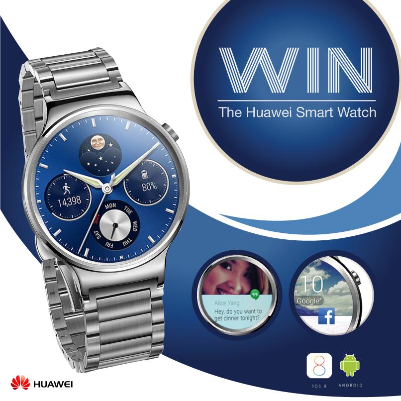 Win the Huawei Smart Watch