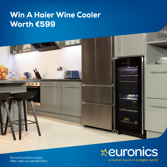 Win a Haier Wine Cooler