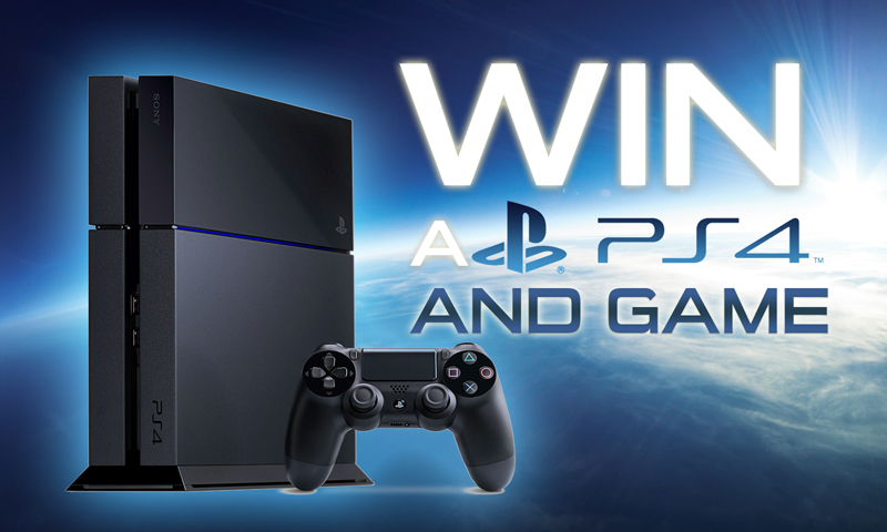 Win a Sony Playstation 4 and choice of Game