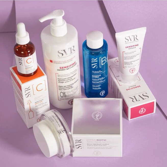 Win skincare products from SVR!