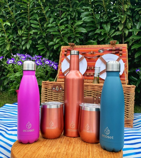 Win reusable Wine Bottle & Tumbler Gift Set