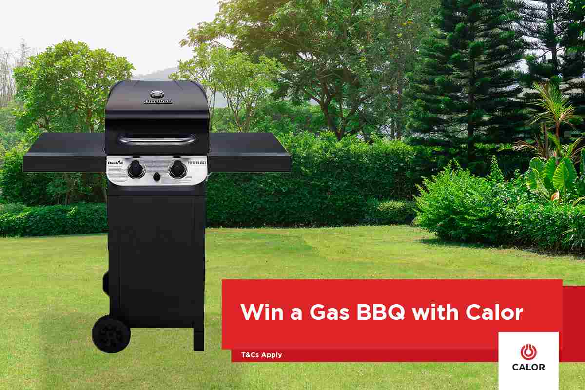 Win an Amazing BBQ Worth Over €300 with Calor