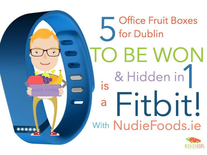win a FitBit - HiddenInside 1 of 5 Runner Up Office Fruit Box Prizes!