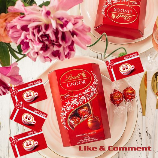 Win 1 of 2 amazing Lindt Hampers with all of your Lindor Favourites