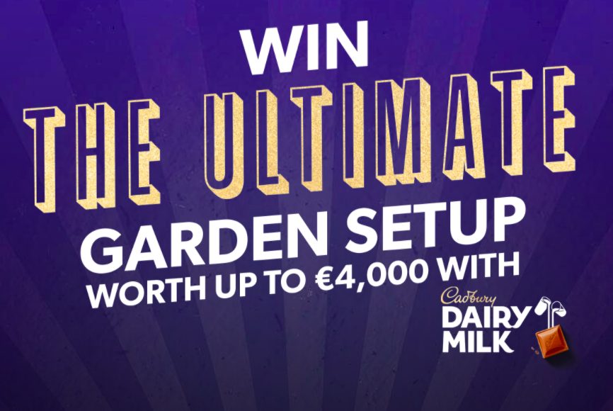 Win the Cadbury Garden package worth up to €4000