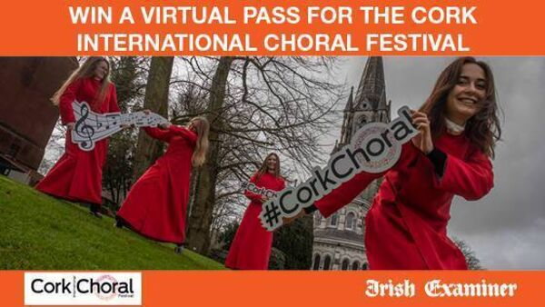 Win a virtual pass for the Cork International Choral Festival