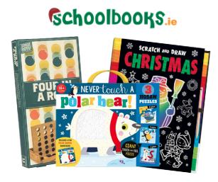 Win a Christmas Activities Hamper with Schoolbooks.ie