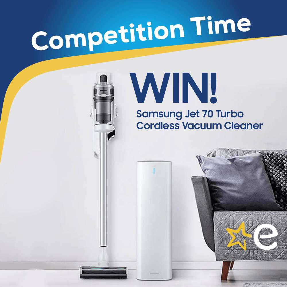Win a Samsung Jet Vacuum Worth €399