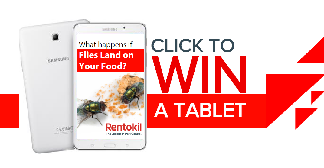 Win a Samsung Tablet.