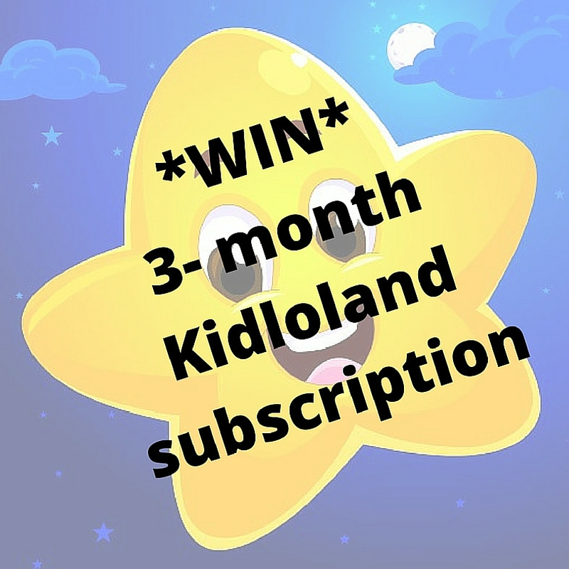 Win a 3 month subscription for Kidloland kids app