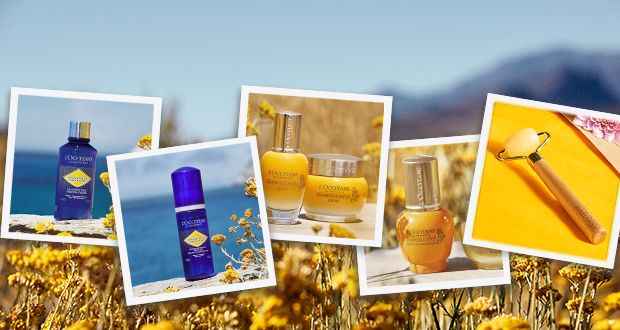 Win 1 of 2 L'OCCITANE Immortelle Divine gift boxes