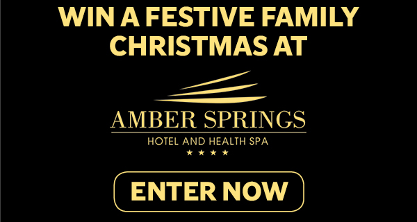 Win a festive family Christmas at the Amber Springs