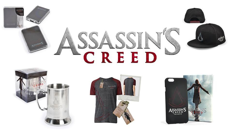 Win Assassin's Creed Goodie Packs