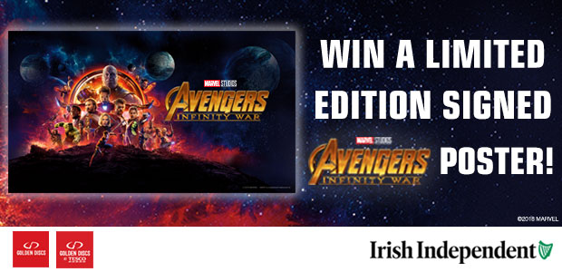 Win a signed Avengers: Infinity War Poster