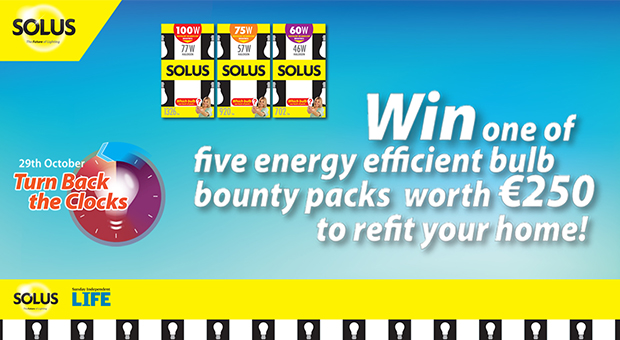 Win One of Five Energy Efficient Bulb Bounty Packs worth €250