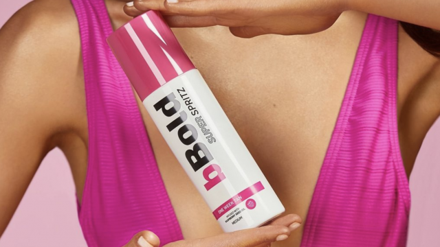 Win a year's supply of bBold's week-long glimmering tan Super Spritz