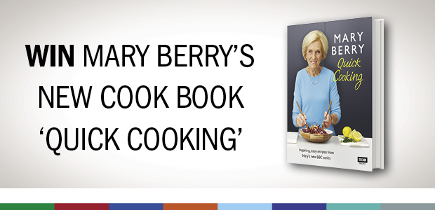 Win Mary Berry's new cook book Quick Cooking