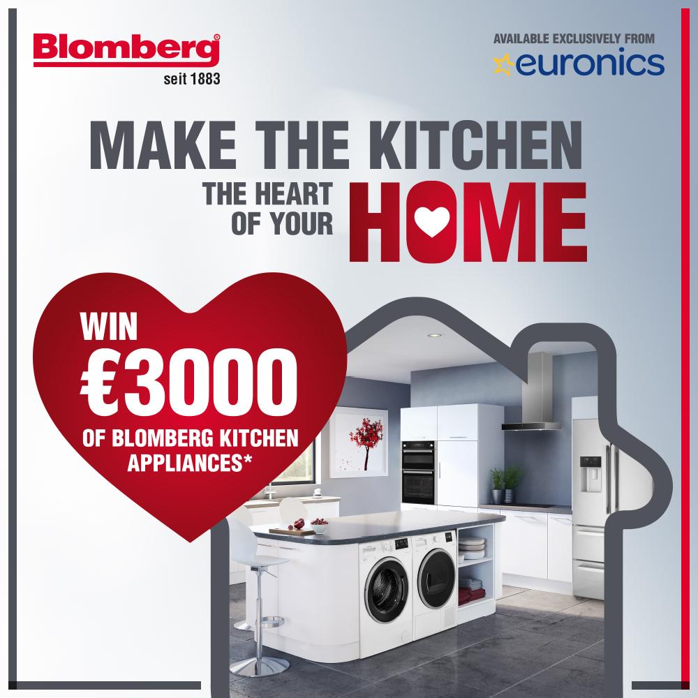 Win a Blomberg Kitchen worth €3k