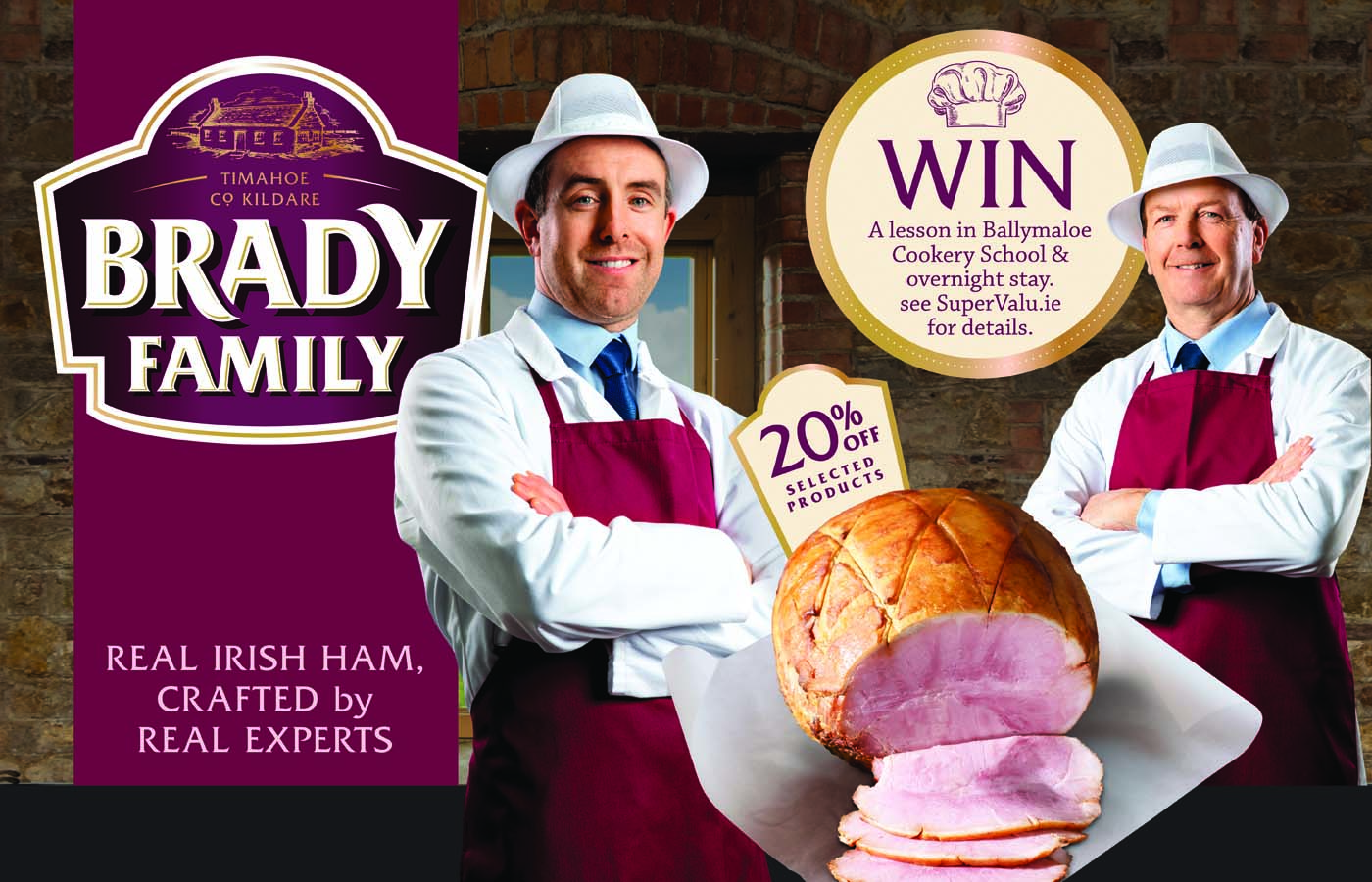 Win a Family Admission to the world-renowned Dublin Horse Show with Brady Family Ham