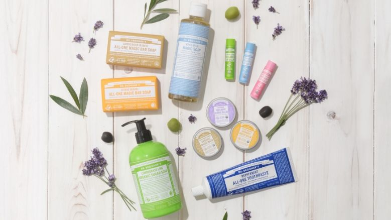 Win a Range of Dr Bronner's Products