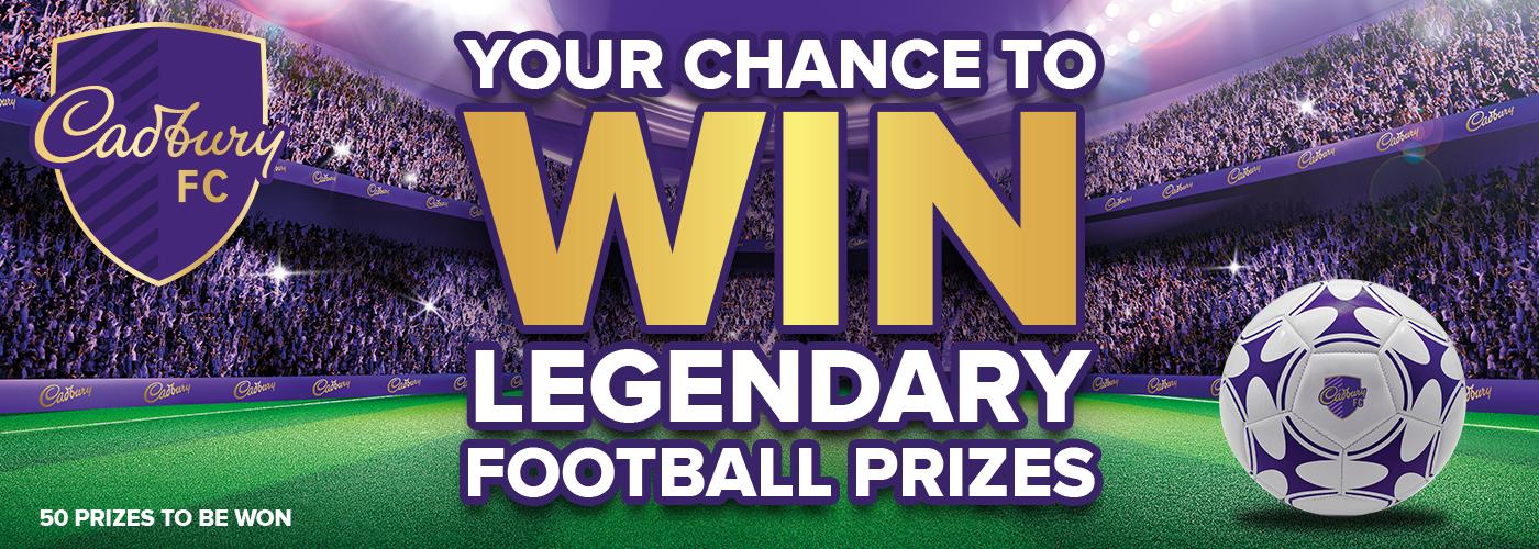 Win Legendary Football Prizes