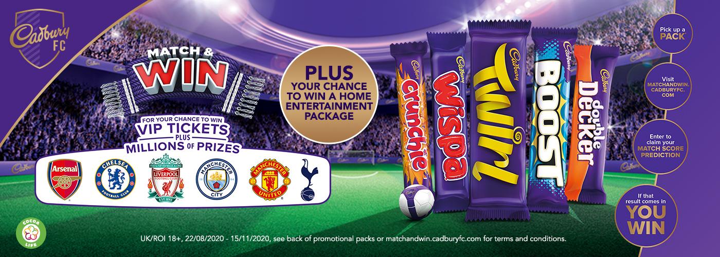 Win with Cadbury
