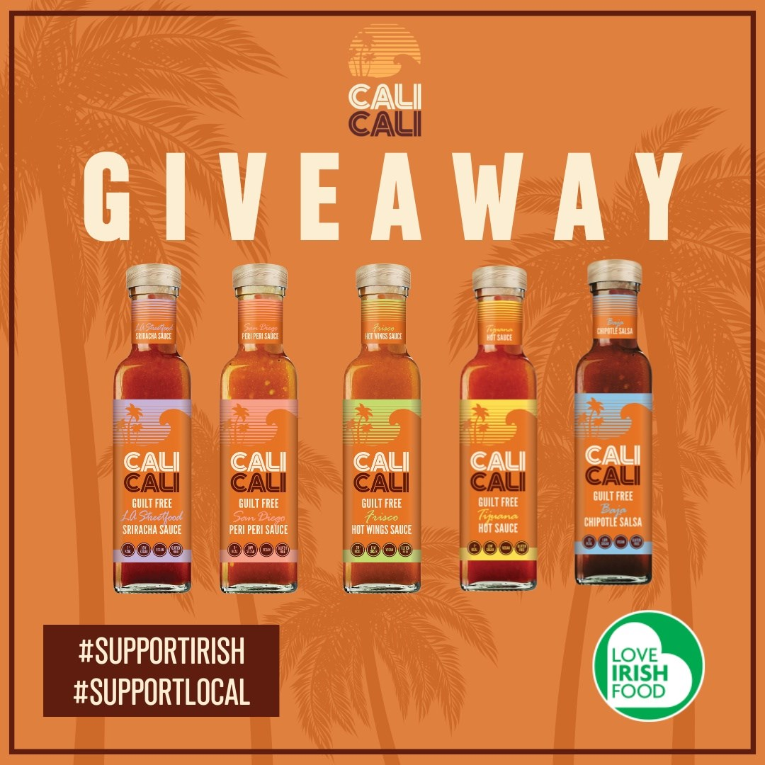 Win a Month's Supply of Cali Cali Foods Sauces and Exclusive Merch