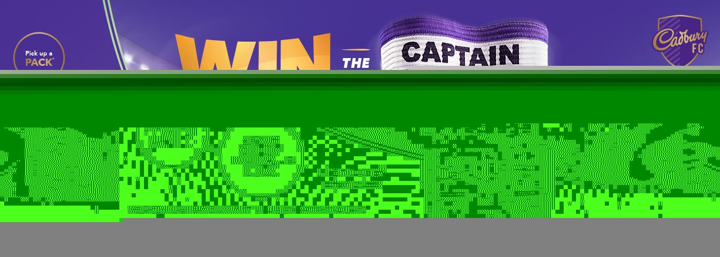 Win the Captain with Cadbury