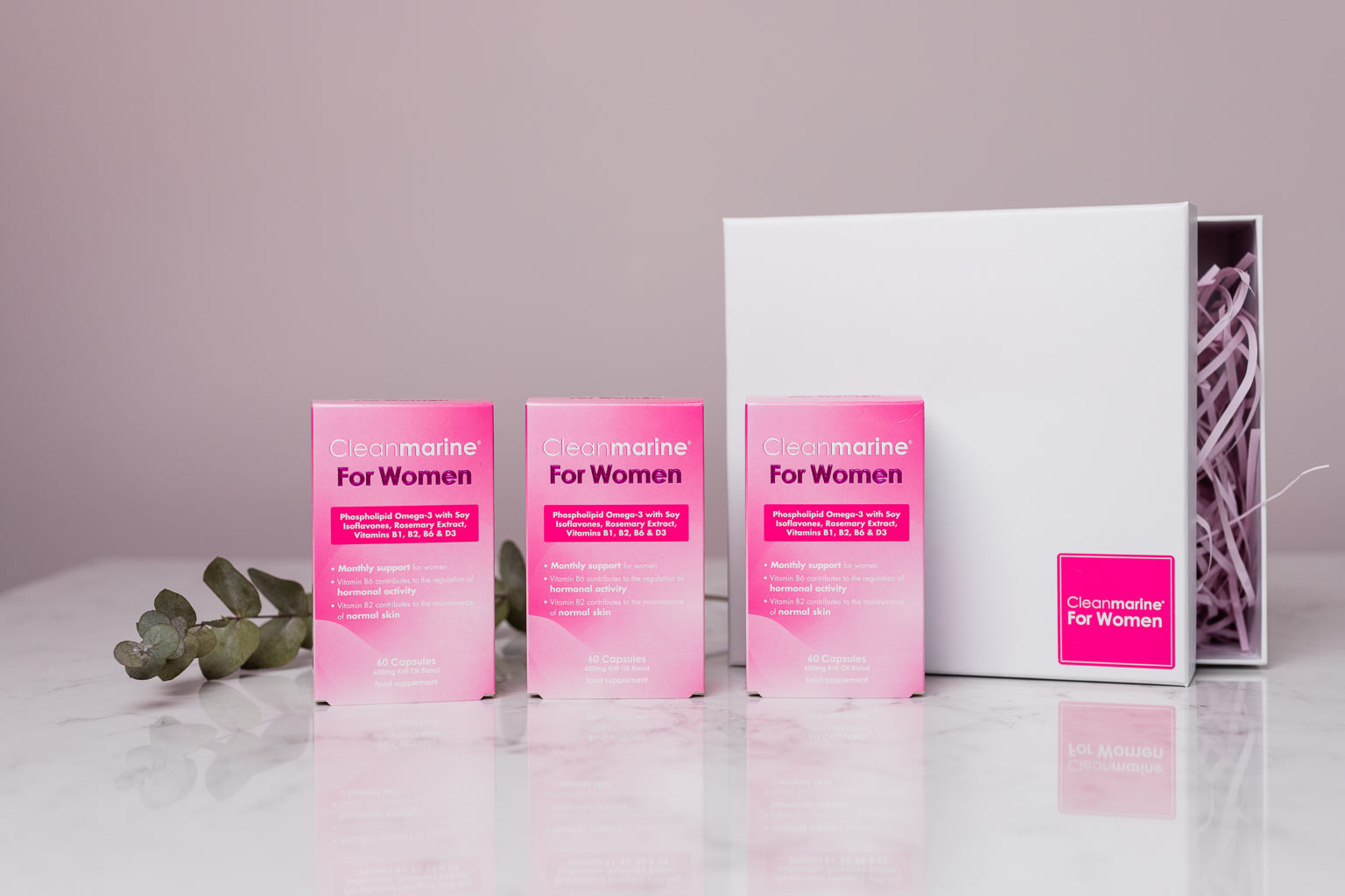 Win a Three-Month Supply of Cleanmarine for Women
