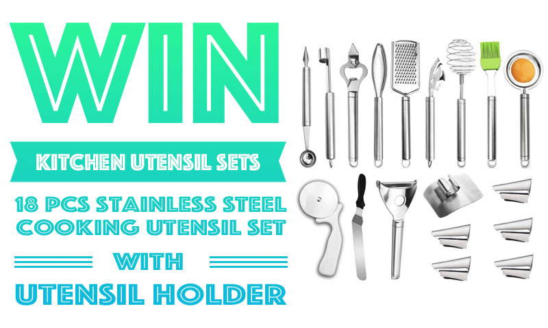 Win 18PC Kitchen Utensil Cooking Set