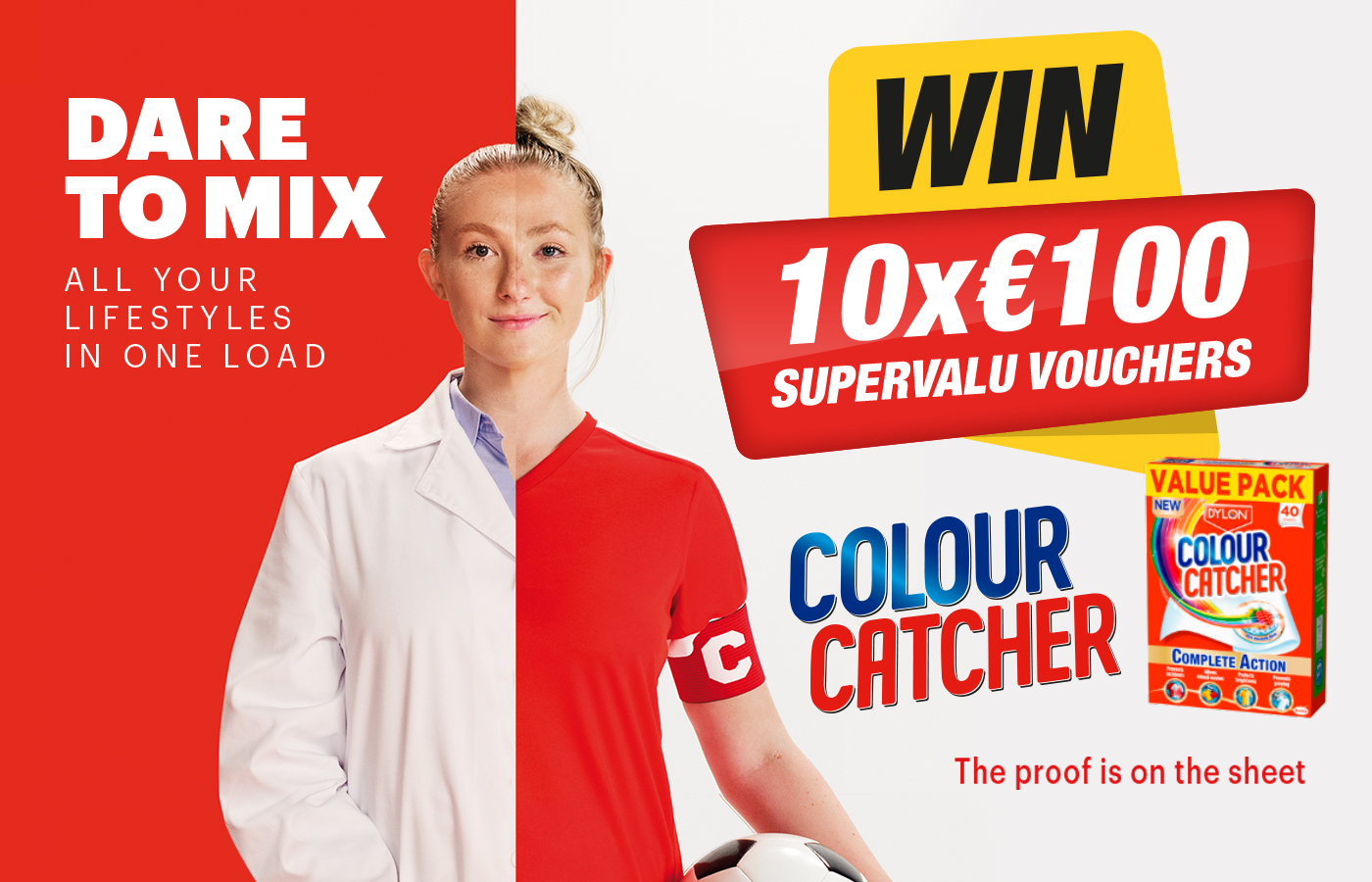 Win 1 of 10 SuperValu shopping vouchers with Colour Catcher