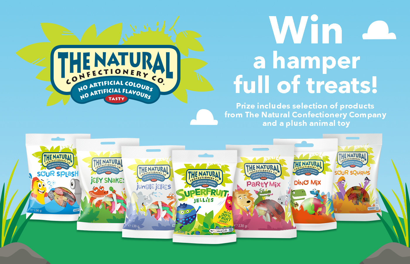Win a hamper full of treats from The Natural Confectionery